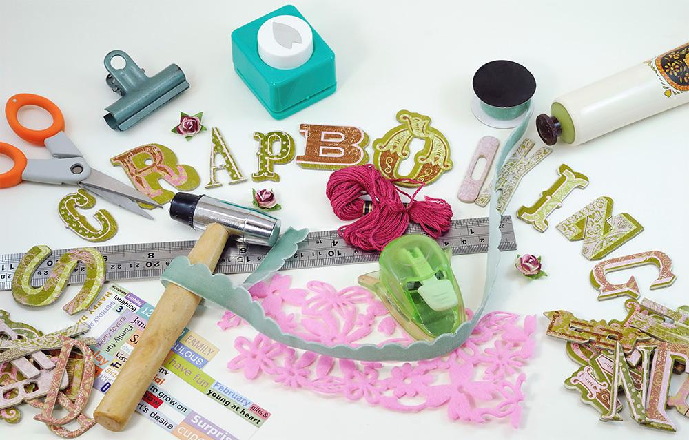 Scrapbook Craft Supplies